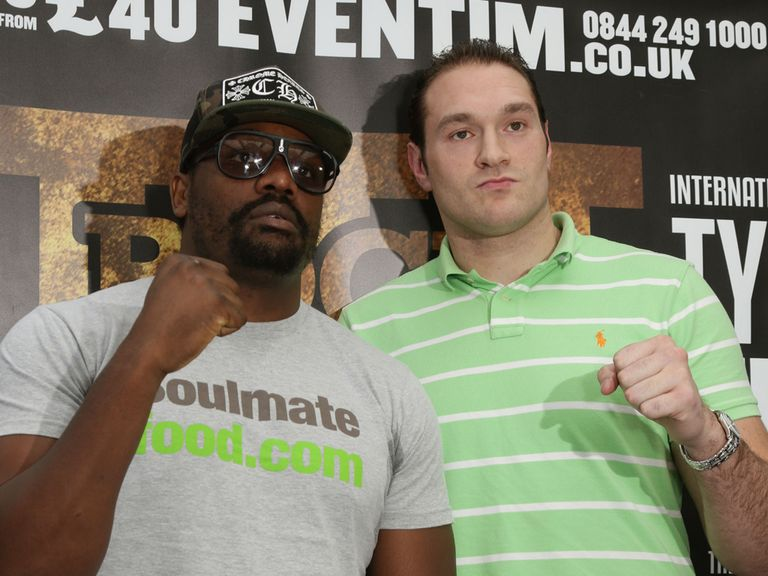 Chisora and Fury can both be victorious this weekend