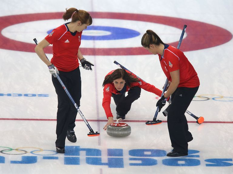 Eve Muirhead led Britain to an easy victory