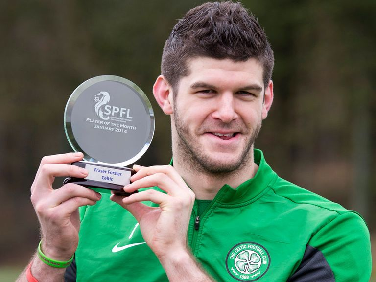 Fraser Forster: Recently eclipsed Charlie Shaw's 92-year-old club record