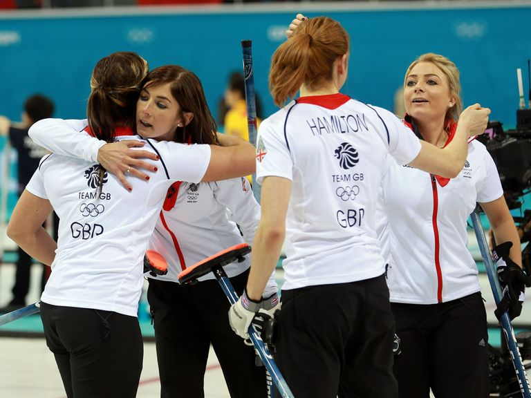 Relief and delight for GB's curlers