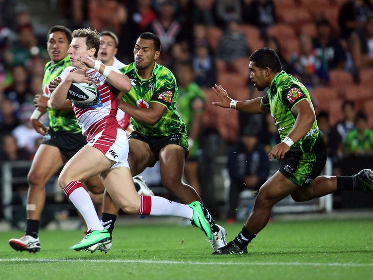 George Williams surges forward for Wigan