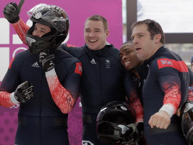 Great Britain 1 finished fifth in the four-man bob