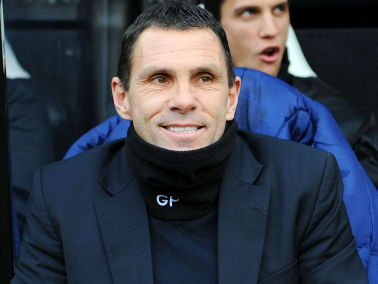 Poyet: Hopeful of springing a surprise at Man City