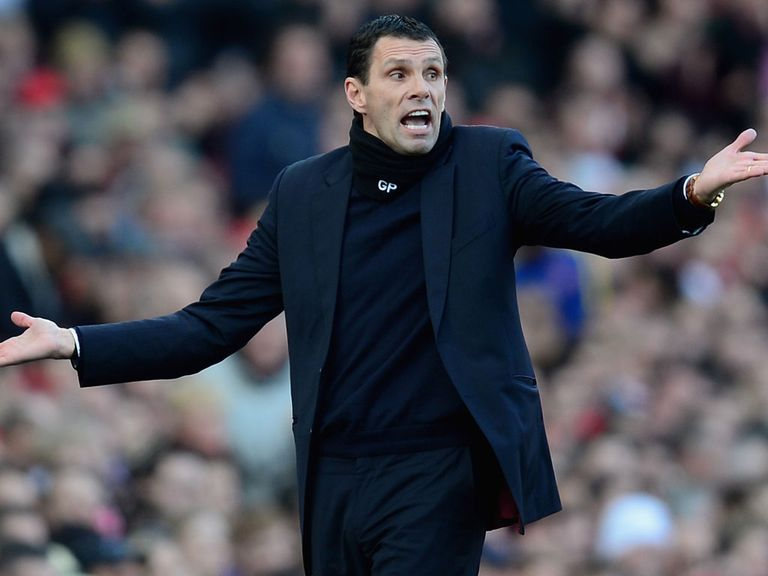 Gus Poyet: Says fans would favour cup win over survival