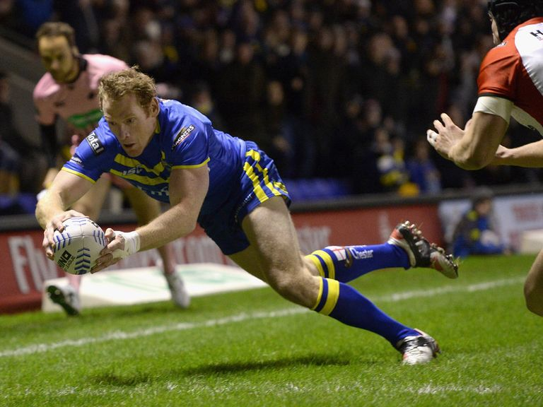 Joel Monaghan: Scored four tries for Warrington against London