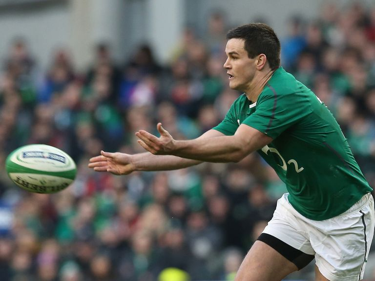 Johnny Sexton: Will face Italy in Dublin on Saturday