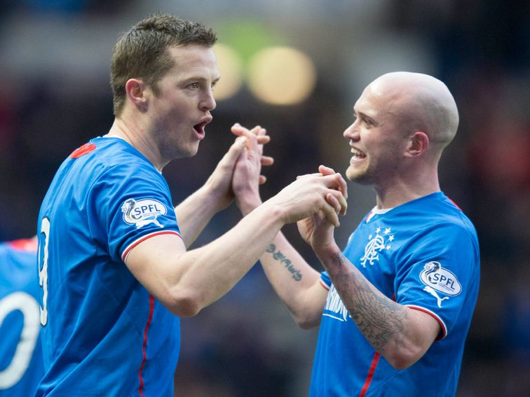 Rangers could be dancing for joy on Friday