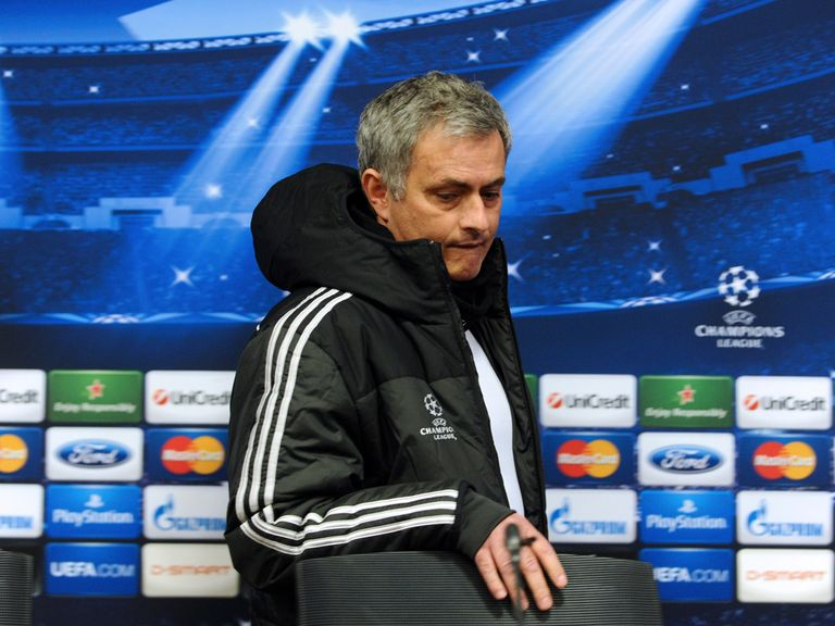Mourinho: Unhappy with his options up front