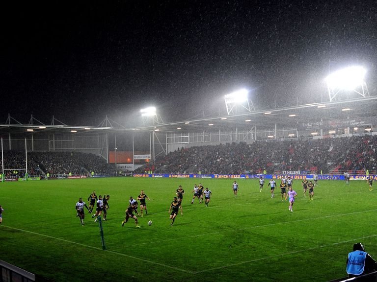 Langtree Park: Will host the first Challenge Cup semi-final
