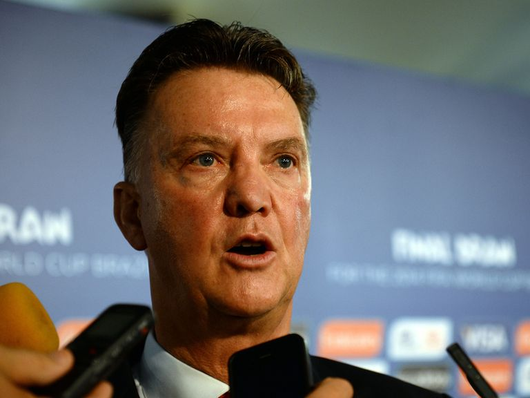 Louis van Gaal: Set for a switch to the Premier League