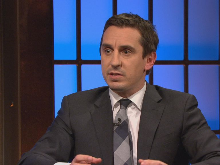Gary Neville: Says players should take responsibility