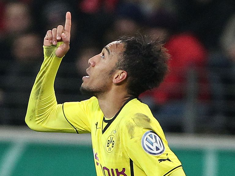 Pierre-Emerick Aubameyang: Scored the winner
