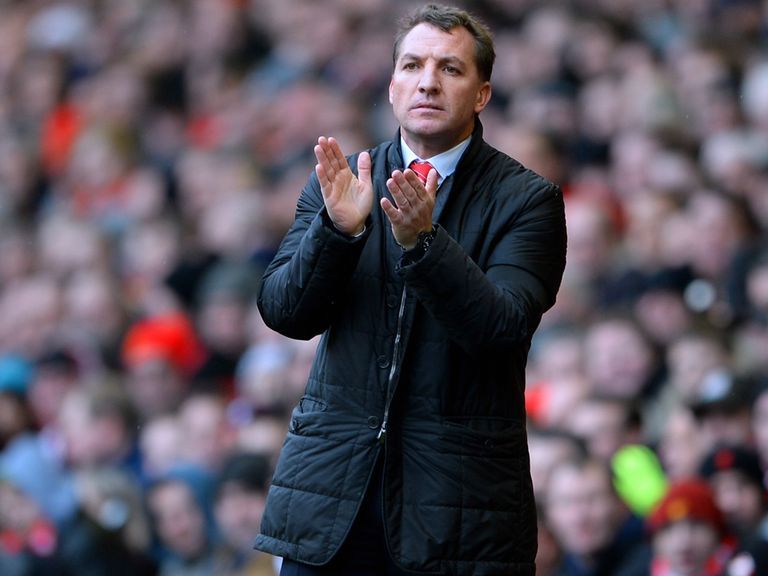 Brendan Rodgers: Cool over Liverpool's title hopes