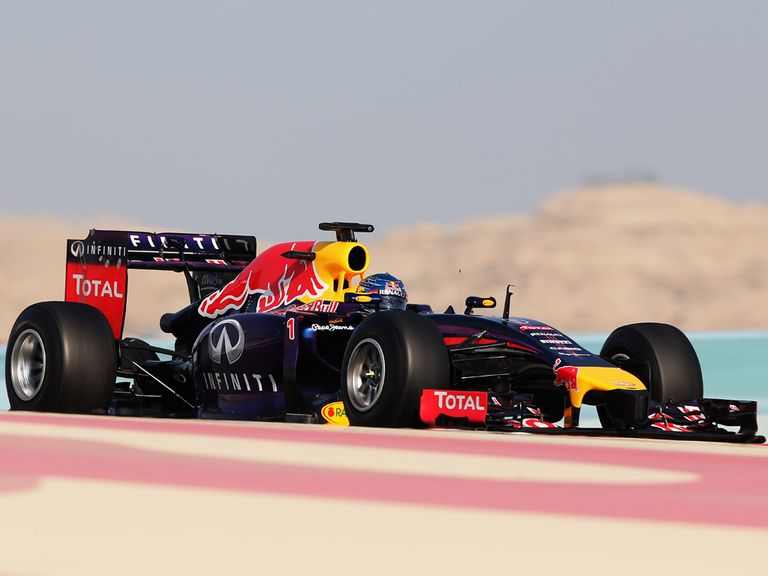 Sebastian Vettel: Fifth on the timesheets