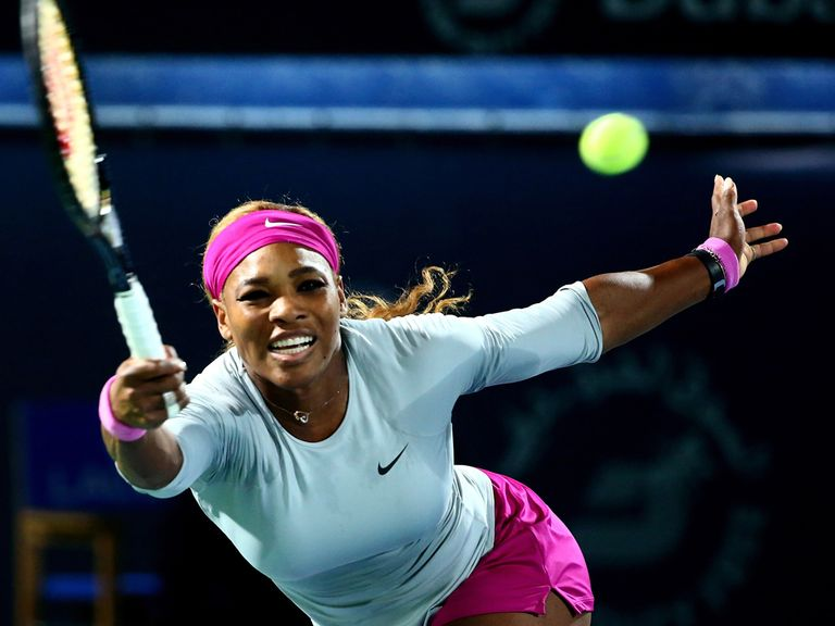 Serena Williams: Happier with her form