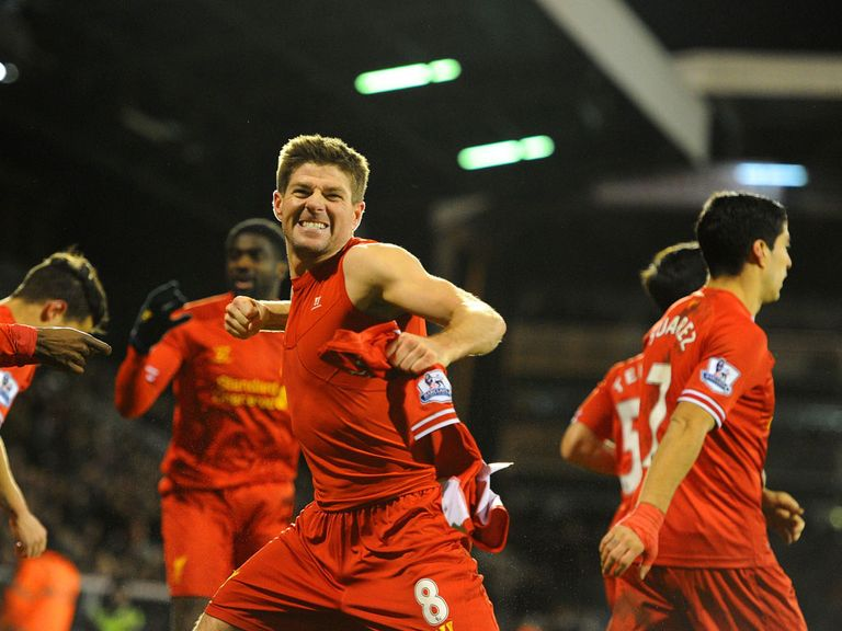 Steven Gerrard: Feels Liverpool can challenge for the title