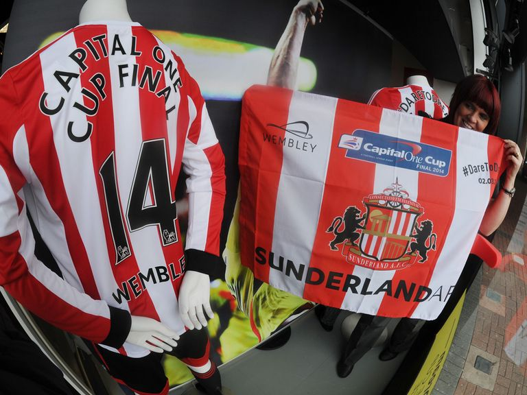 Sunderland are ready for the Capital One Cup final