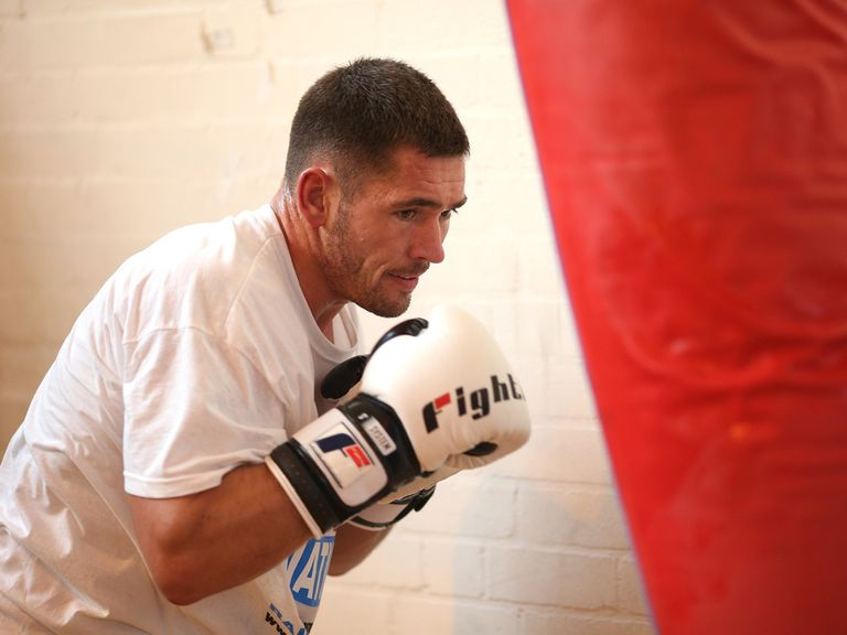 Tony Conquest: Looking to land his first professional title