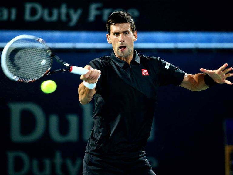 Novak Djokovic didn't even hit a ball in Dubai
