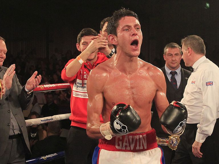 Gavin McDonnell: Clung on to his British super bantamweight title