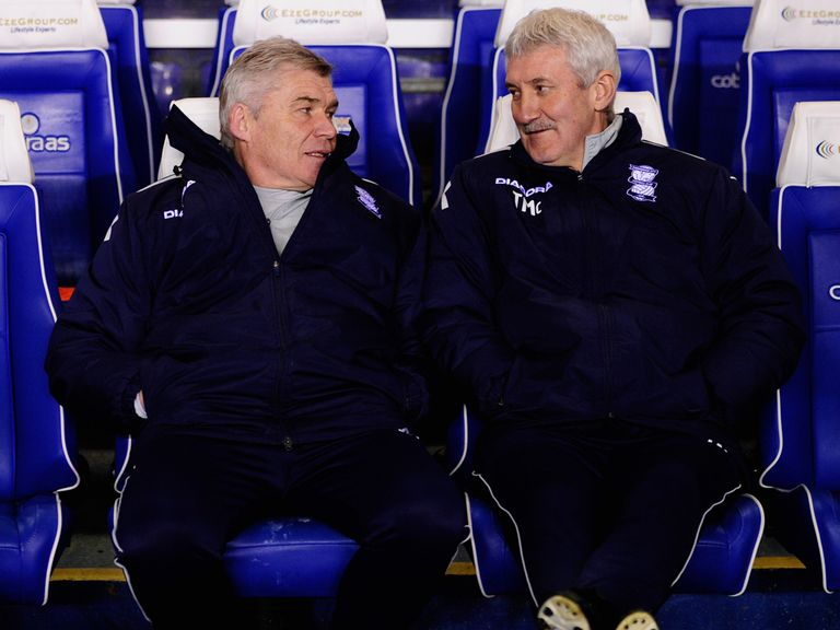 Terry McDermott and Derek Fazackerley: Rumoured to have left Birmingham
