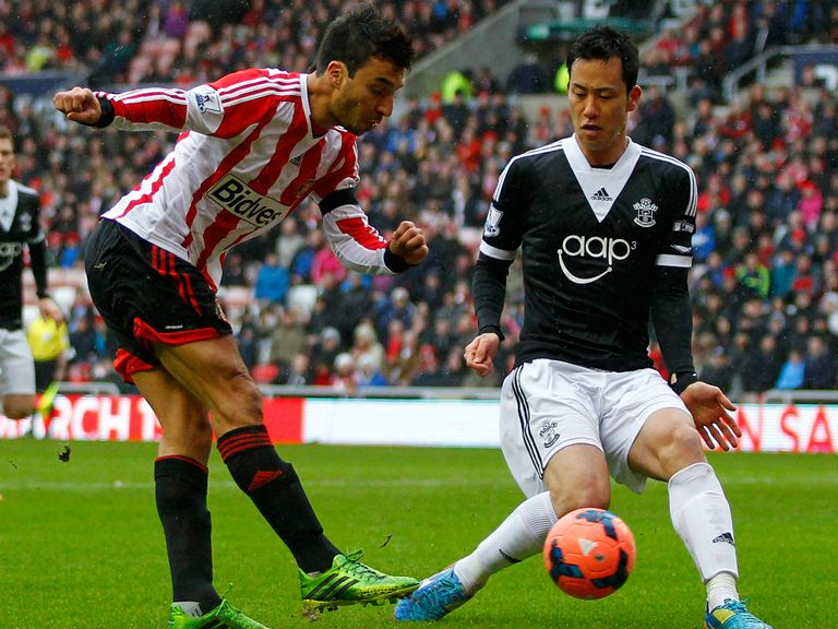 Nacho Scocco: Made little impact at Sunderland