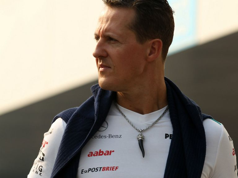 Schumacher: Has left hospital