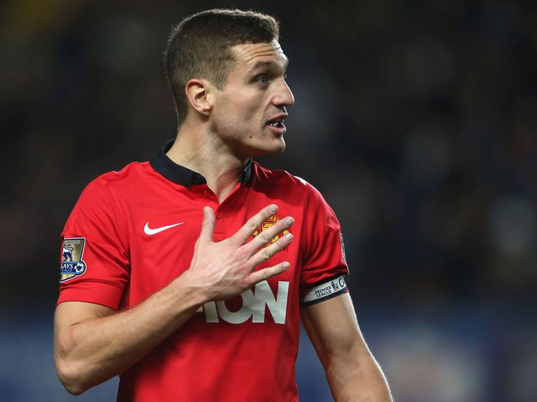 Nemanja Vidic: Looks set for Inter Milan switch