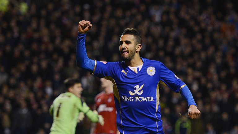 Riyad Mahrez: Technical scouting tools narrowed down the search for the player