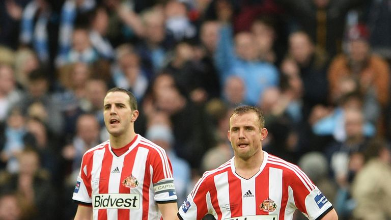 Sunderland: cannot dwell on Wembley loss, says Quinn