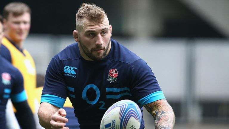 Joe Marler: Absent from the England team for final Six Nations game