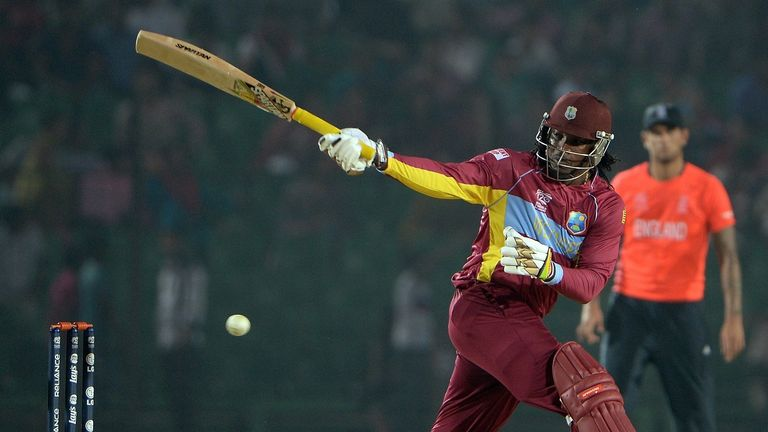 Chris Gayle: Saw West Indies home with unbeaten 58