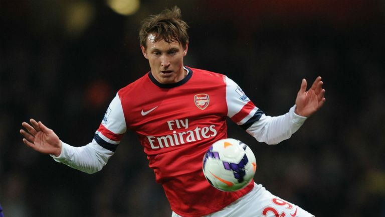 Kim Kallstrom struggled with injury while at Arsenal