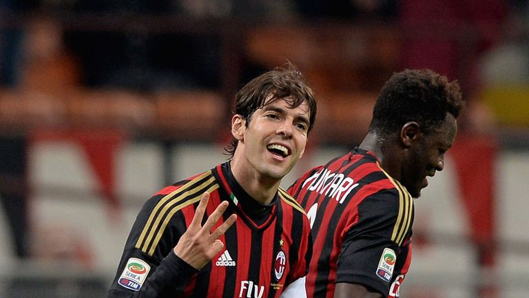 Kaka: Under contract until 2015, but being linked with a summer switch