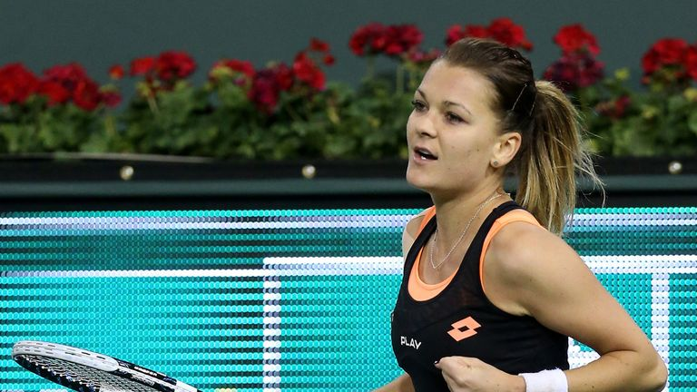 Agnieszka Radwanska: The Pole is into the semi-finals of the Katowice Open
