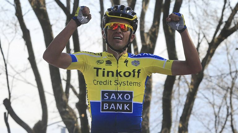 Contador doubled up on stage five