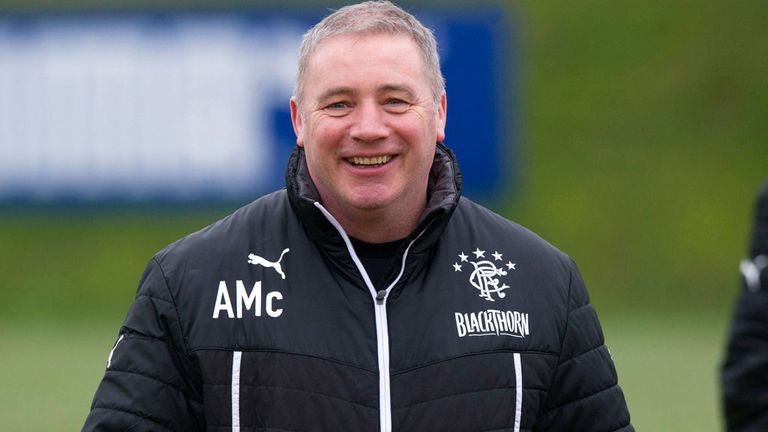 Ally McCoist all smiles as Rangers' League One season ends unbeaten
