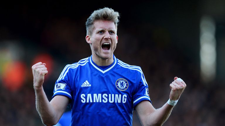 Hat-trick hero: Andre Schurrle notched thrice as Chelsea saw off struggling Fulham