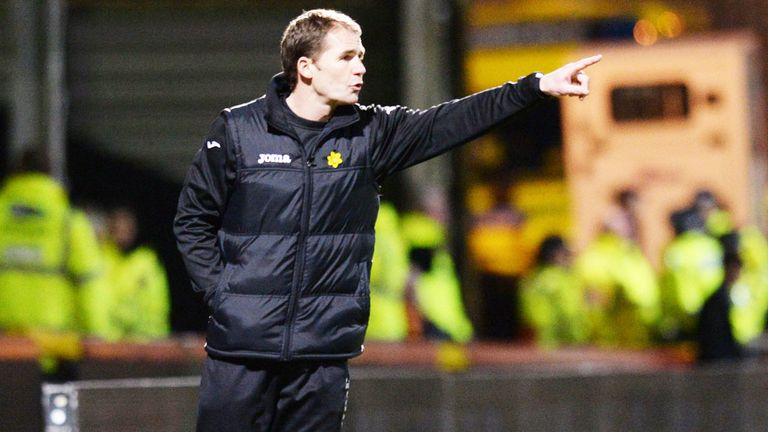Alan Archibald: Unhappy with penalty award