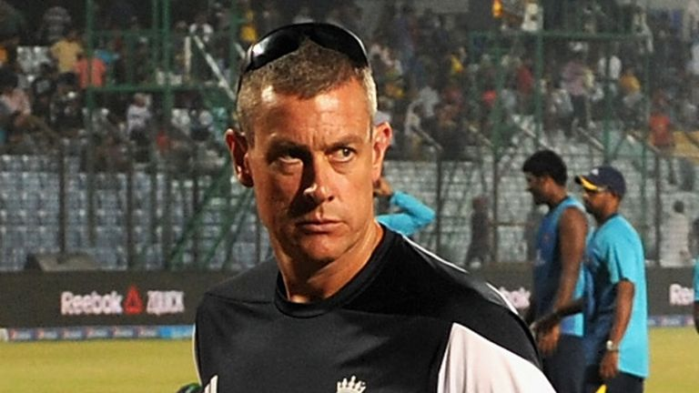 Ashley Giles: Backed to replace Andy Flower