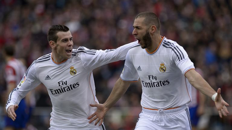 Gareth Bale (l): Not taking title for granted