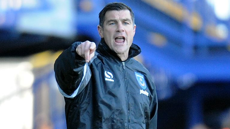 Richie Barker: Short reign as Portsmouth manager