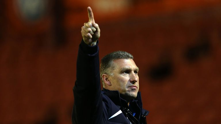 Nigel Pearson: Onwards and upwards for Leicester