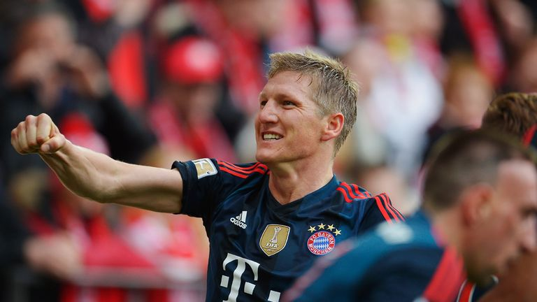 Bastian Schweinsteiger broke the deadlock for Bayern Munich