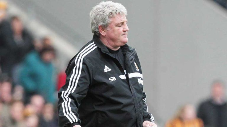 Steve Bruce: Happy at Hull City and would love to carry on as manager