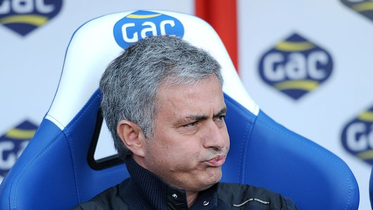 Jose Mourinho: Has rattled Laurent Blanc ahead of Wednesday's Paris showdown