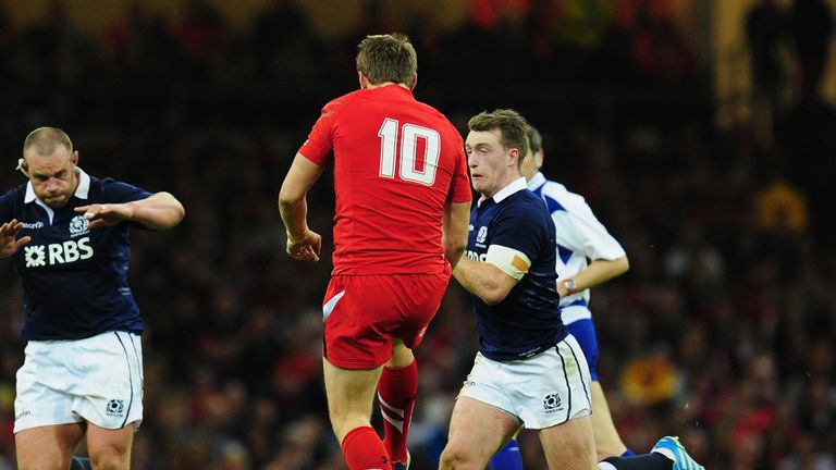 Collision course: Hogg thunders into Biggar