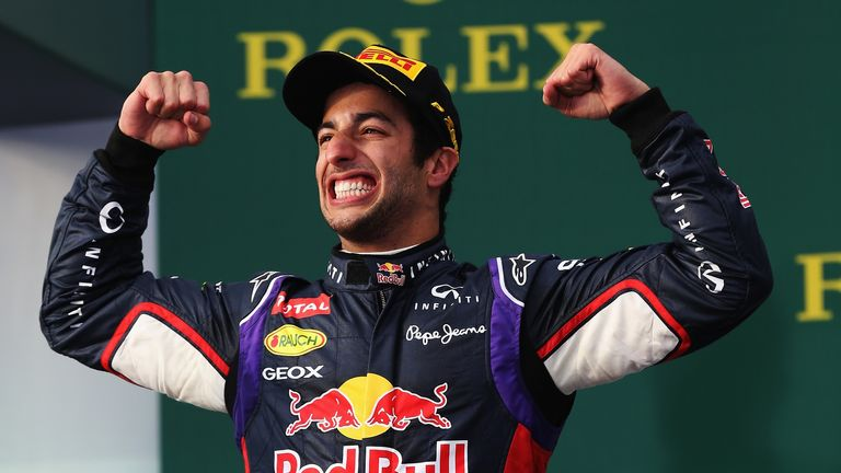 Daniel Ricciardo: Disqualified from the Australian GP