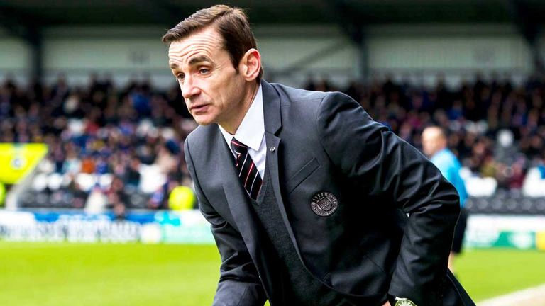 Danny Lennon: St Mirren boss is happy with his team's attitude
