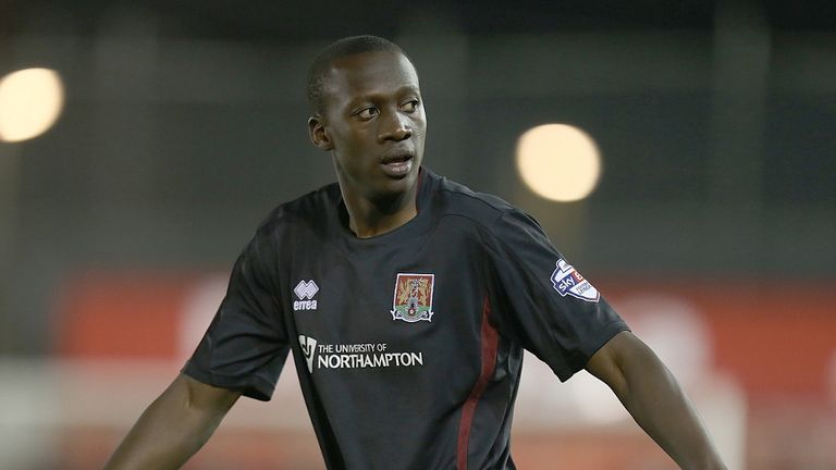 David Moyo: Extends Cobblers stay
